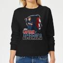 avengers-captain-america-damen-pullover-schwarz-xs-schwarz