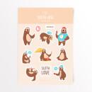 sloth-love-sticker-pack