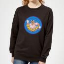 bullseye-ring-logo-women-s-sweatshirt-black-xl-schwarz