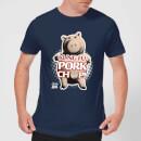 toy-story-kung-fu-pork-chop-herren-t-shirt-navy-blau-s-marineblau