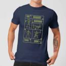 toy-story-plastic-platoon-herren-t-shirt-navy-blau-s-marineblau