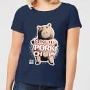 toy-story-kung-fu-pork-chop-damen-t-shirt-navy-blau-s-marineblau