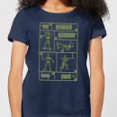 toy-story-plastic-platoon-damen-t-shirt-navy-blau-xl-marineblau