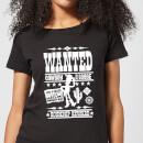 toy-story-wanted-poster-damen-t-shirt-schwarz-4xl-schwarz