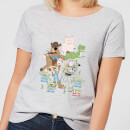 toy-story-group-shot-damen-t-shirt-grau-4xl-grau