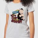 toy-story-evil-oinker-damen-t-shirt-grau-4xl-grau