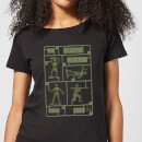 toy-story-plastic-platoon-damen-t-shirt-schwarz-4xl-schwarz