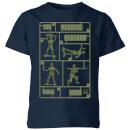 toy-story-plastic-platoon-kids-t-shirt-navy-9-10-jahre-marineblau