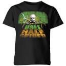 toy-story-half-doll-half-spider-kids-t-shirt-black-9-10-jahre-schwarz