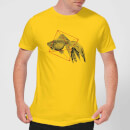 florent-bodart-fish-in-geometry-men-s-t-shirt-yellow-m-gelb
