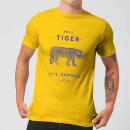 florent-bodart-smile-tiger-men-s-t-shirt-yellow-m-gelb