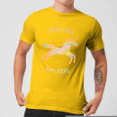 florent-bodart-unicorns-are-real-men-s-t-shirt-yellow-m-gelb