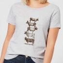 cow-cow-nuts-women-s-t-shirt-grey-l-grau, 17.49 EUR @ sowaswillichauch-de