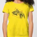 fish-in-geometry-women-s-t-shirt-yellow-m-gelb