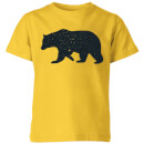 bear-kids-t-shirt-yellow-9-10-jahre-gelb