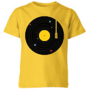 music-everywhere-kids-t-shirt-yellow-9-10-jahre-gelb