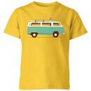 blue-van-kids-t-shirt-yellow-3-4-jahre-gelb