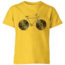 velophone-kids-t-shirt-yellow-11-12-jahre-gelb