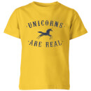 florent-bodart-unicorns-are-real-kids-t-shirt-yellow-9-10-jahre-gelb
