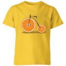 citrus-kids-t-shirt-yellow-11-12-jahre-gelb