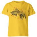 fish-in-geometry-kids-t-shirt-yellow-11-12-jahre-gelb