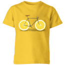 citrus-lemon-kids-t-shirt-yellow-11-12-jahre-gelb