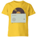 high-fidelity-kids-t-shirt-yellow-5-6-jahre-gelb