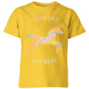 florent-bodart-unicorns-are-real-kids-t-shirt-yellow-11-12-jahre-gelb