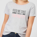 be-my-pretty-feed-me-cake-women-s-t-shirt-grey-s-grau