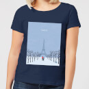 paris-women-s-t-shirt-navy-m-marineblau