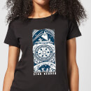 vaiana-moana-star-reader-damen-t-shirt-schwarz-s-schwarz