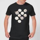 dumbo-peekaboo-herren-t-shirt-schwarz-xl-schwarz