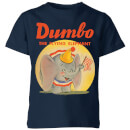 dumbo-flying-elephant-kids-t-shirt-navy-9-10-jahre-marineblau
