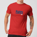 plain-lazy-bed-men-s-t-shirt-red-xxl-rot