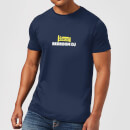 plain-lazy-bedroom-dj-men-s-t-shirt-navy-m-marineblau