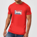 plain-lazy-logo-print-men-s-t-shirt-red-xxl-rot