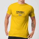 plain-lazy-chubby-and-loving-it-men-s-t-shirt-yellow-xxl-gelb