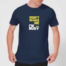 plain-lazy-don-t-wake-me-men-s-t-shirt-navy-xl-marineblau