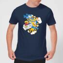 sonic-the-hedgehog-think-you-can-beat-me-herren-t-shirt-navy-blau-xl-marineblau