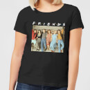 friends-retro-character-shot-damen-t-shirt-schwarz-5xl-schwarz