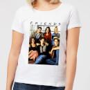 friends-vintage-character-shot-damen-t-shirt-wei-5xl-wei-