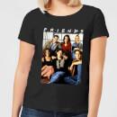 friends-vintage-character-shot-damen-t-shirt-schwarz-5xl-schwarz
