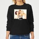 friends-girls-damen-pullover-schwarz-5xl-schwarz