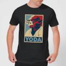 Camiseta Star Wars Yoda Póster - Hombre - Negro - S - Negro Negro S