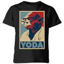 star-wars-classic-yoda-poster-kinder-t-shirt-schwarz-9-10-jahre-schwarz