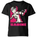 star-wars-rebels-sabine-kinder-t-shirt-schwarz-9-10-jahre-schwarz