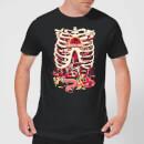 rick-and-morty-anatomy-park-herren-t-shirt-schwarz-s-schwarz