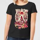 rick-and-morty-anatomy-park-damen-t-shirt-schwarz-s-schwarz