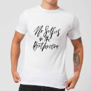 planeta444-no-selfies-in-the-bathroom-men-s-t-shirt-white-m-wei-
