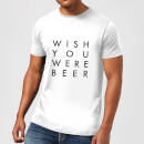 planeta444-wish-you-were-beer-men-s-t-shirt-white-l-wei-